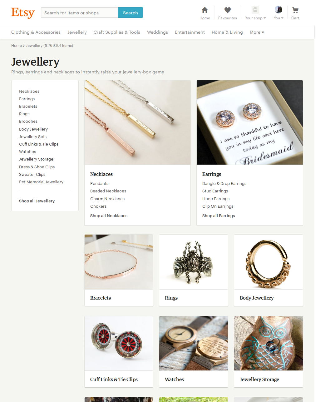 Jewellery – Etsy CA