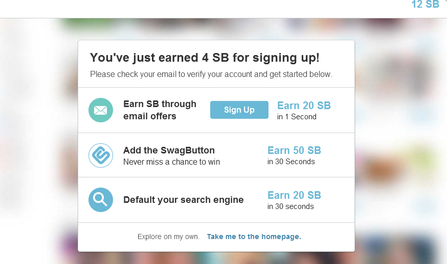 Swagbucks Home