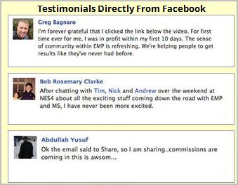 emp testimonials