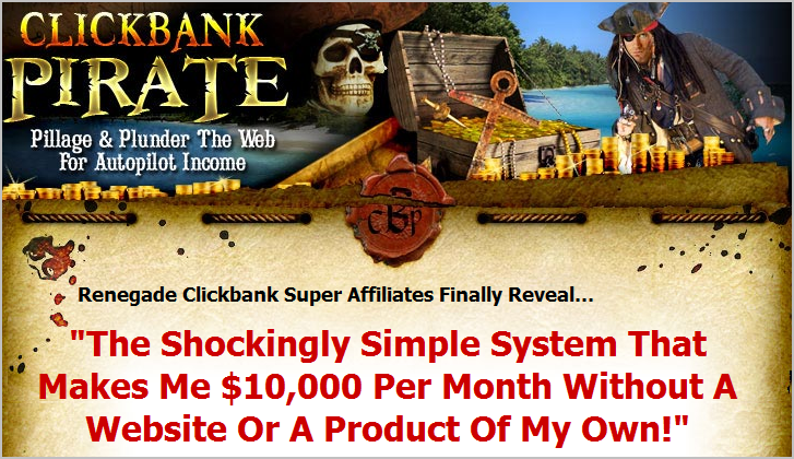 clickbank pirate sales page