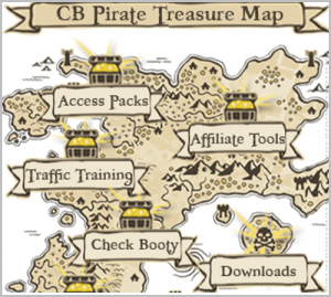 cb pirate treasure map