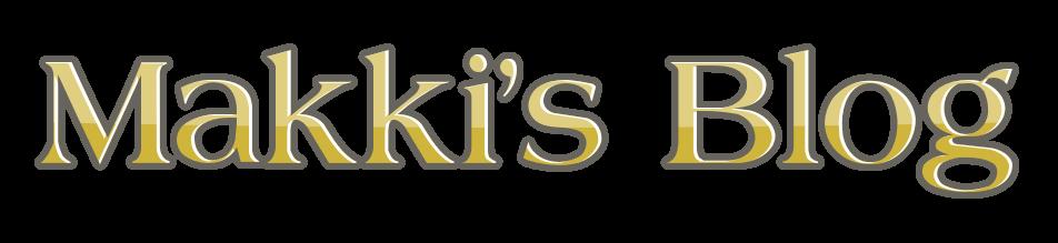 Makki's Blog