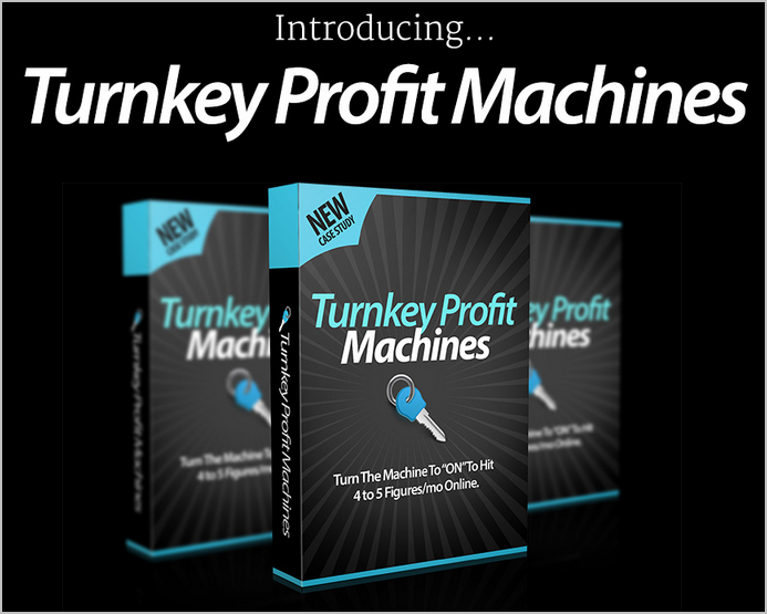 is turnkey profit machines a scam